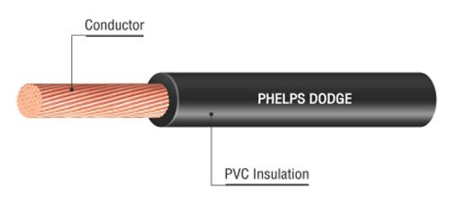 PHELPS DODGE CABLE TYPE 60227 IEC 08 (HVSF)